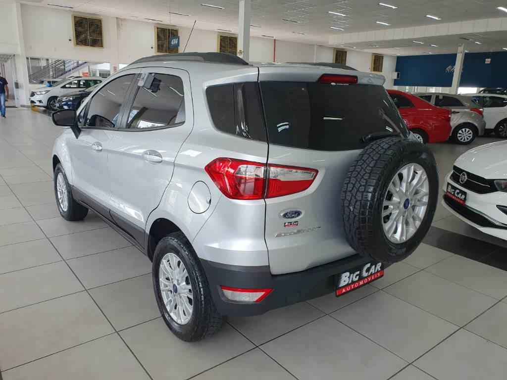 Foto numero 2 do veiculo Ford EcoSport SE AT 1.6B - Prata - 2016/2017