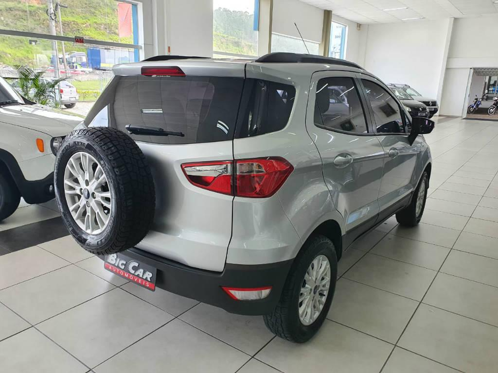 Foto numero 3 do veiculo Ford EcoSport SE AT 1.6B - Prata - 2016/2017