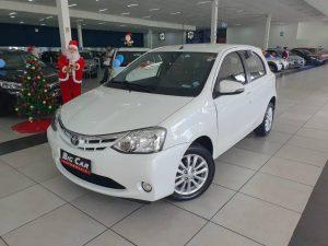 Foto numero 0 do veiculo Toyota Etios XLS 1.5 - Branca - 2015/2016