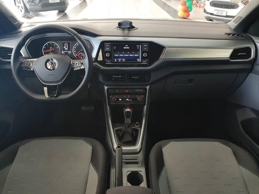Foto numero 6 do veiculo Volkswagen T-Cross T CROSS CL TSI AD - Branca - 2019/2020
