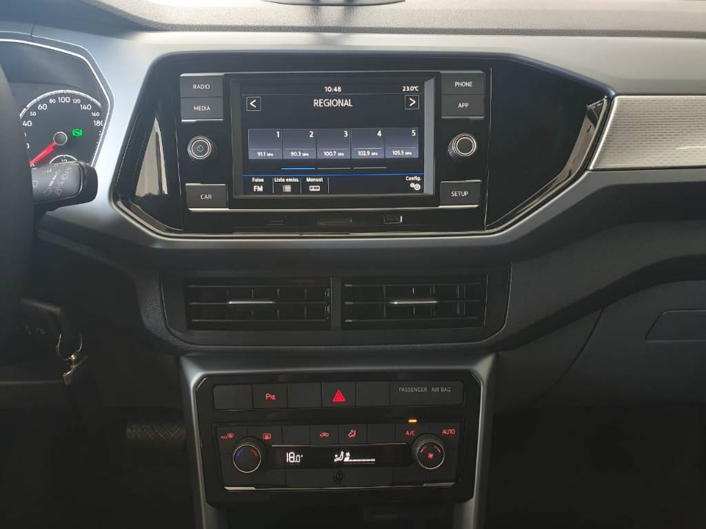 Foto numero 8 do veiculo Volkswagen T-Cross T CROSS CL TSI AD - Branca - 2019/2020