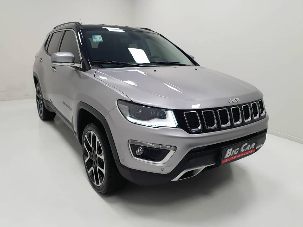 Foto numero 4 do veiculo Jeep Compass Limited - Prata - 2019/2020