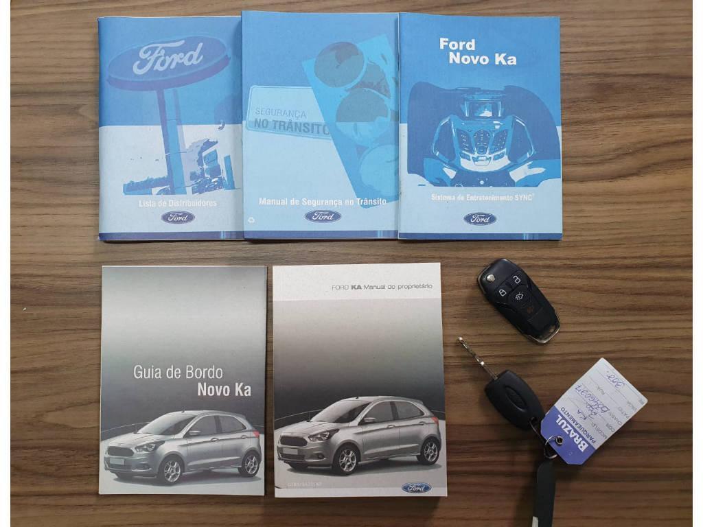 Foto numero 14 do veiculo Ford KA - Branca - 2016/2016