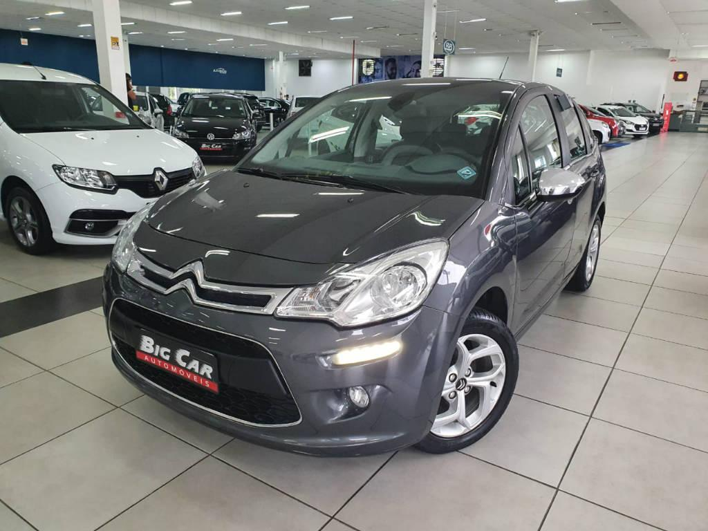 Foto numero 0 do veiculo Citroën C3 EXCLUSIVE - Cinza - 2016/2017