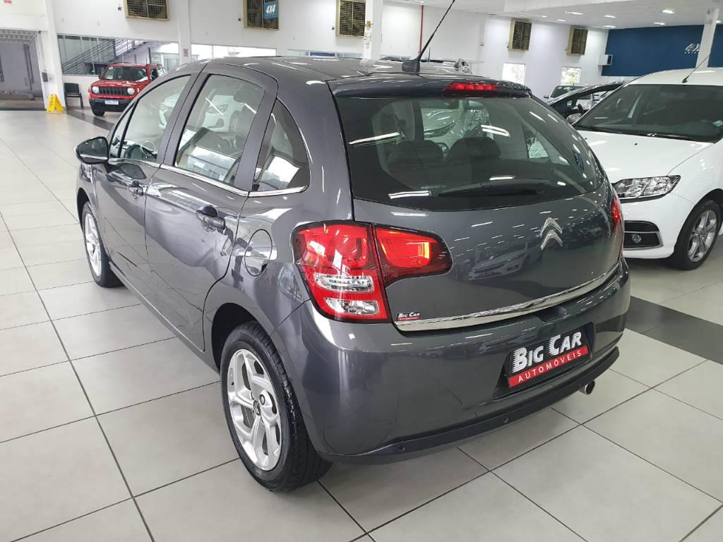 Foto numero 2 do veiculo Citroën C3 EXCLUSIVE - Cinza - 2016/2017