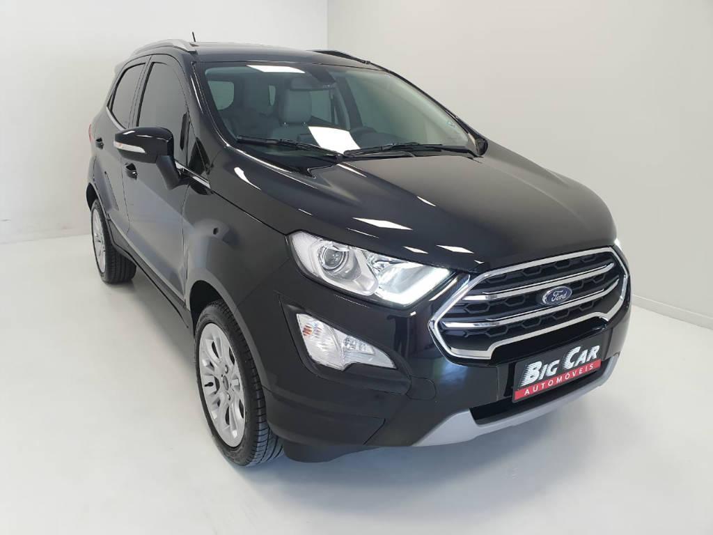 Foto numero 4 do veiculo Ford EcoSport TIT2AT 1.5 - Preta - 2019/2020