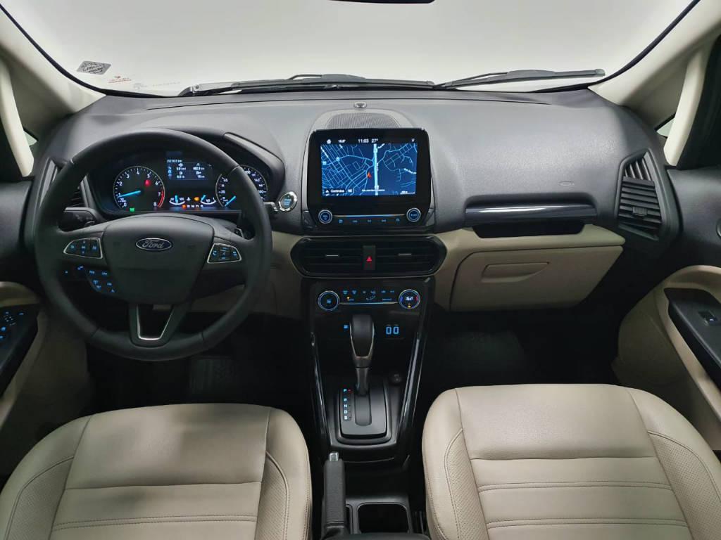 Foto numero 6 do veiculo Ford EcoSport TIT2AT 1.5 - Preta - 2019/2020