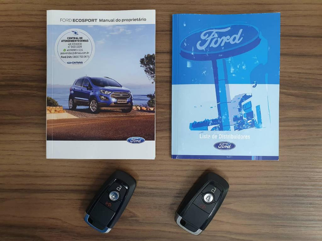 Foto numero 14 do veiculo Ford EcoSport TIT2AT 1.5 - Preta - 2019/2020