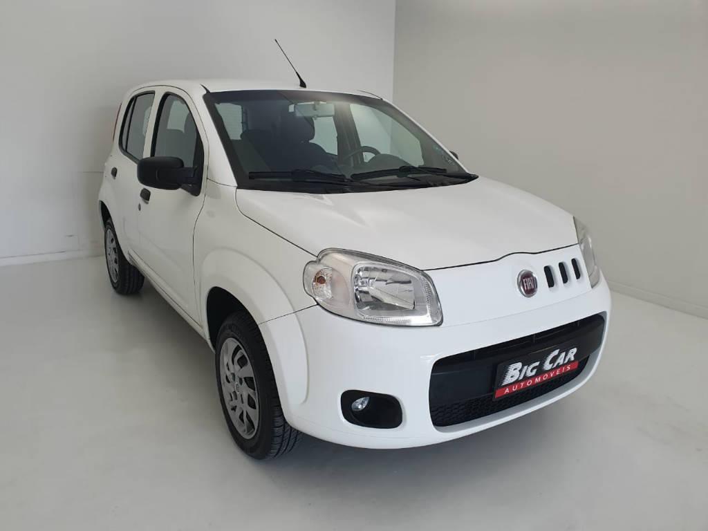 Foto numero 4 do veiculo Fiat Uno VIVACE - Branca - 2012/2013