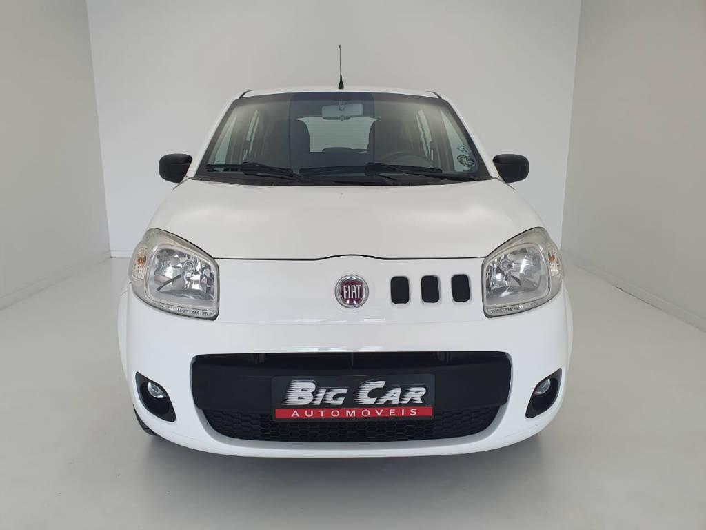 Foto numero 5 do veiculo Fiat Uno VIVACE - Branca - 2012/2013