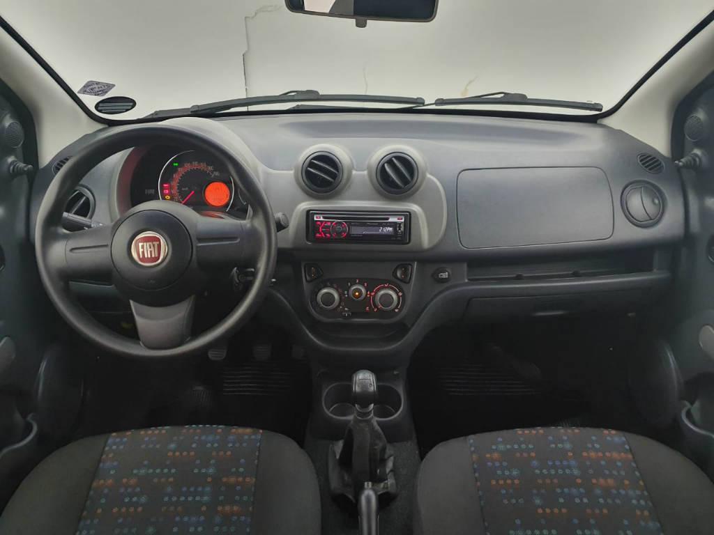 Foto numero 6 do veiculo Fiat Uno VIVACE - Branca - 2012/2013