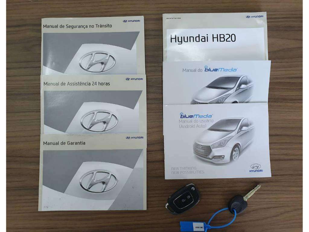 Foto numero 14 do veiculo Hyundai HB20 1.6A PREM - Branca - 2017/2018