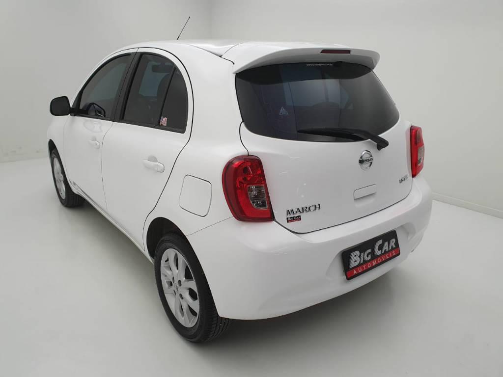 Foto numero 2 do veiculo Nissan March 1.6 SV - Branca - 2019/2020