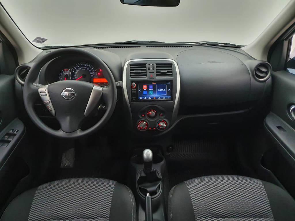 Foto numero 6 do veiculo Nissan March 1.6 SV - Branca - 2019/2020
