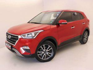Foto numero 0 do veiculo Hyundai Creta Prestige 2.0 16V Flex Aut - Vermelha - 2018/2019