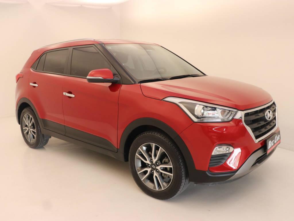 Foto numero 2 do veiculo Hyundai Creta Prestige 2.0 16V Flex Aut - Vermelha - 2018/2019
