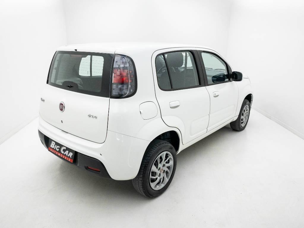 Foto numero 3 do veiculo Fiat Uno DRIVE FURGÃO 1.0 Flex 6V - Branca - 2018/2019