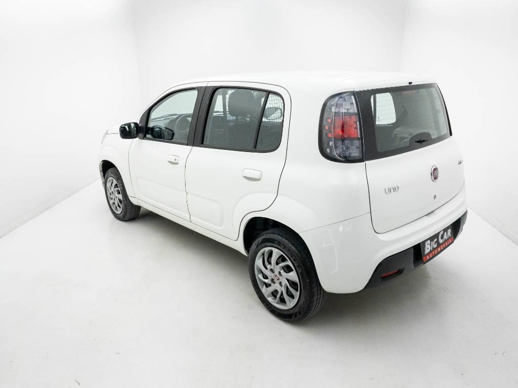 Foto numero 4 do veiculo Fiat Uno DRIVE FURGÃO 1.0 Flex 6V - Branca - 2018/2019