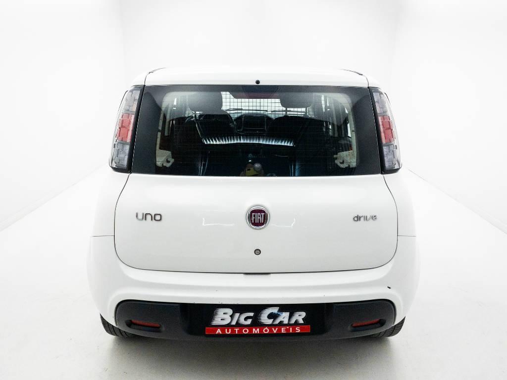 Foto numero 6 do veiculo Fiat Uno DRIVE FURGÃO 1.0 Flex 6V - Branca - 2018/2019