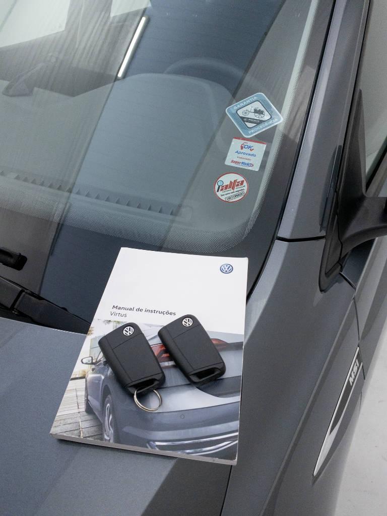 Foto numero 7 do veiculo Volkswagen Virtus 1.6 MSI Flex 16V Mec. - Cinza - 2019/2019