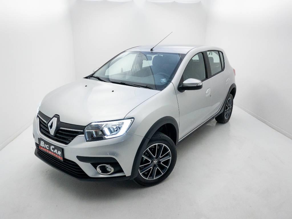 Foto numero 0 do veiculo Renault Sandero Intense Flex 1.6 16V Aut. - Prata - 2020/2021