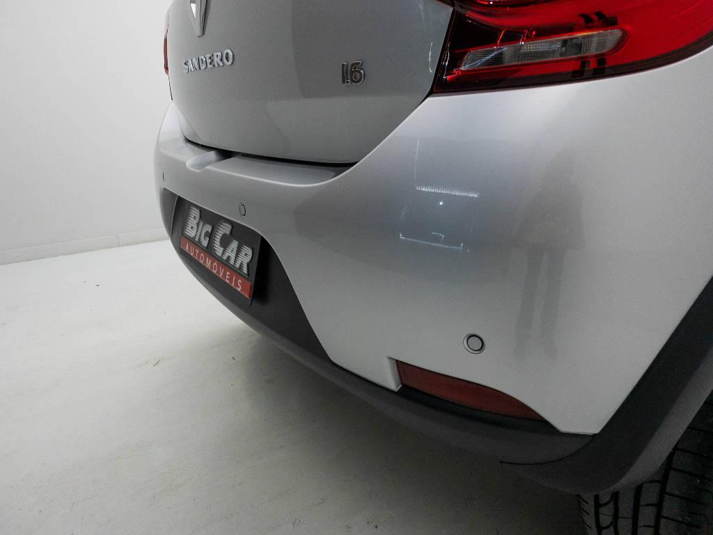 Foto numero 10 do veiculo Renault Sandero Intense Flex 1.6 16V Aut. - Prata - 2020/2021