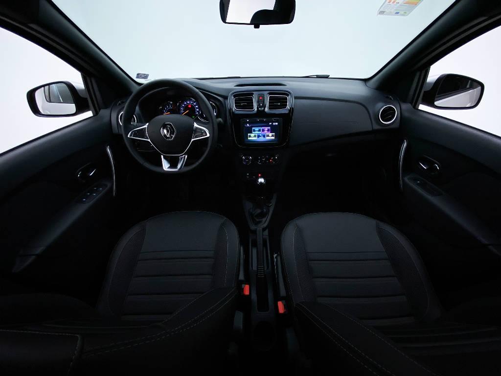 Foto numero 12 do veiculo Renault Sandero Intense Flex 1.6 16V Aut. - Prata - 2020/2021