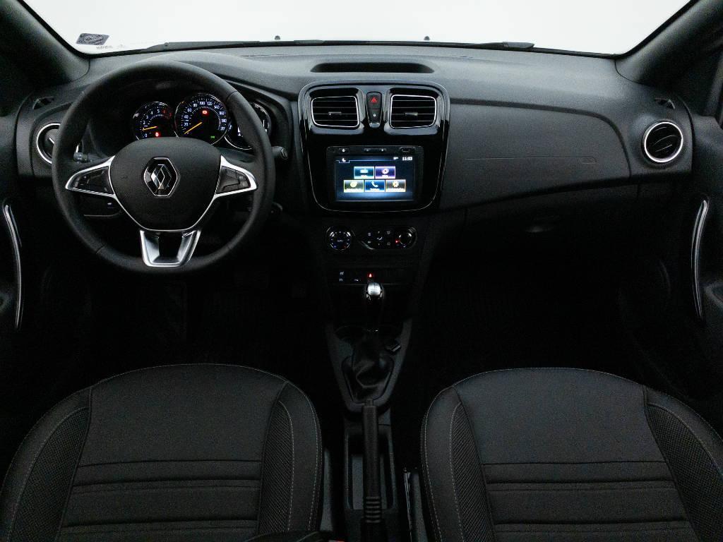 Foto numero 13 do veiculo Renault Sandero Intense Flex 1.6 16V Aut. - Prata - 2020/2021