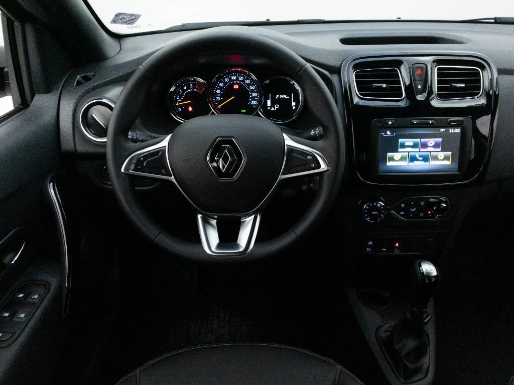 Foto numero 14 do veiculo Renault Sandero Intense Flex 1.6 16V Aut. - Prata - 2020/2021