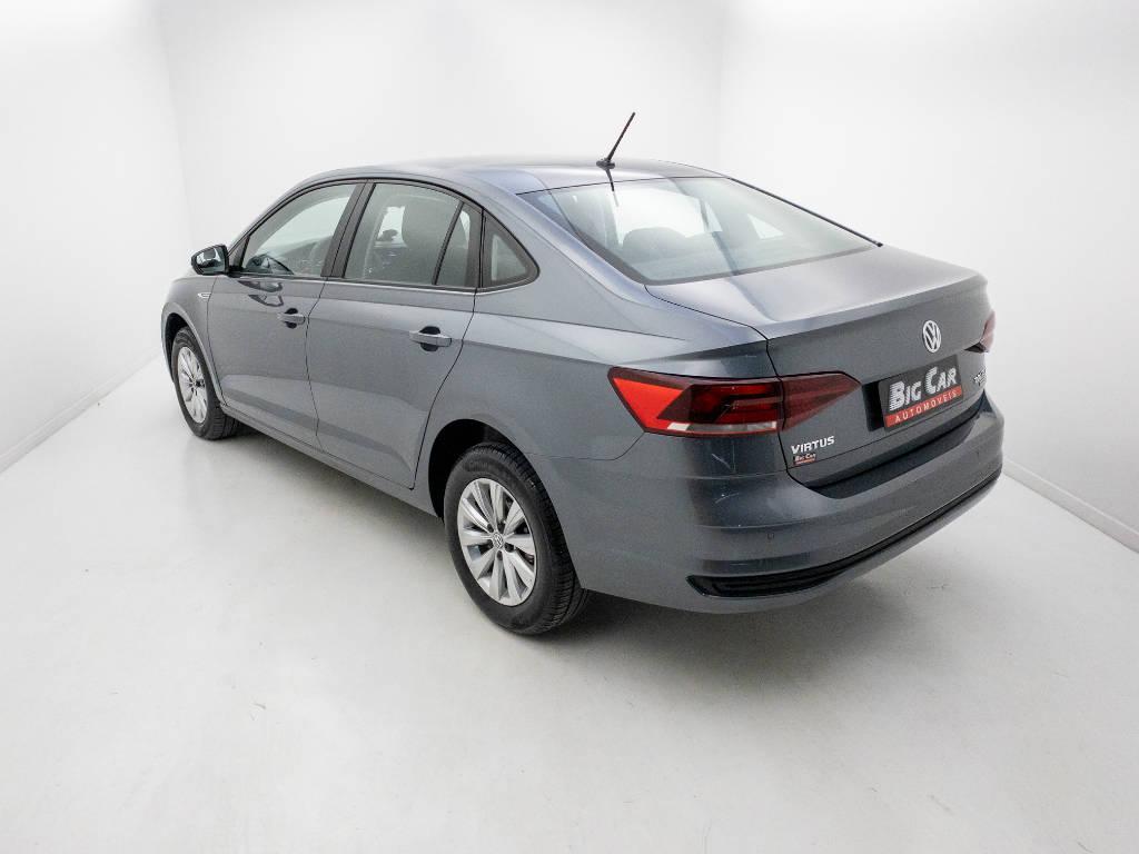 Foto numero 4 do veiculo Volkswagen Virtus Comfort. 200 TSI 1.0 Flex 12V Aut - Cinza - 2019/2020