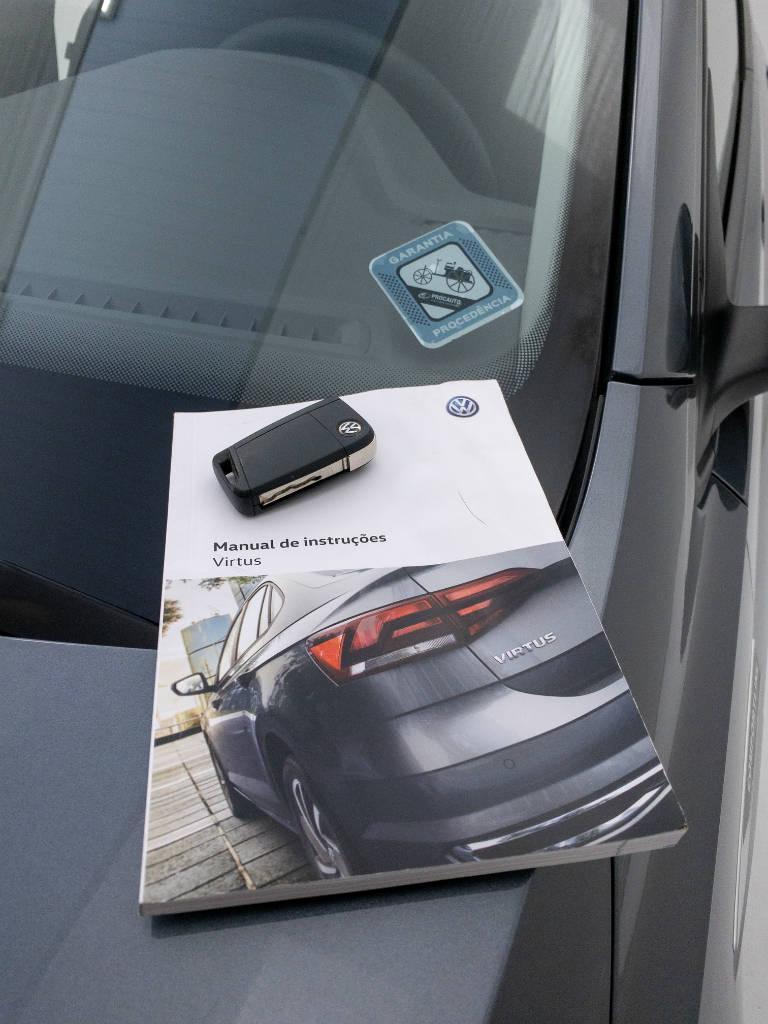 Foto numero 9 do veiculo Volkswagen Virtus Comfort. 200 TSI 1.0 Flex 12V Aut - Cinza - 2019/2020