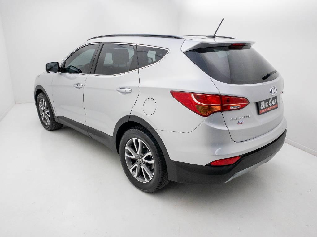 Foto numero 4 do veiculo Hyundai Santa Fé GLS 3.3 V6 4X4 Tiptronic - Prata - 2013/2014