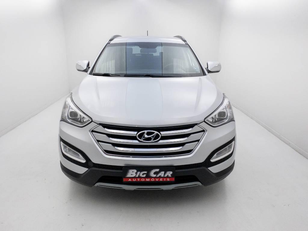 Foto numero 5 do veiculo Hyundai Santa Fé GLS 3.3 V6 4X4 Tiptronic - Prata - 2013/2014