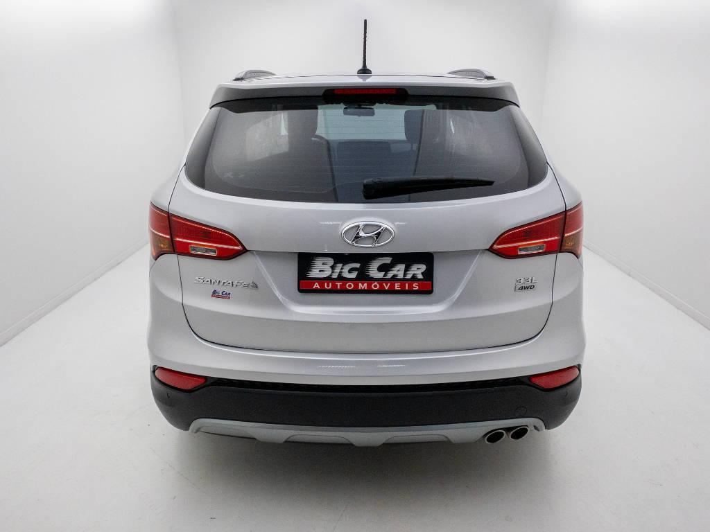 Foto numero 6 do veiculo Hyundai Santa Fé GLS 3.3 V6 4X4 Tiptronic - Prata - 2013/2014