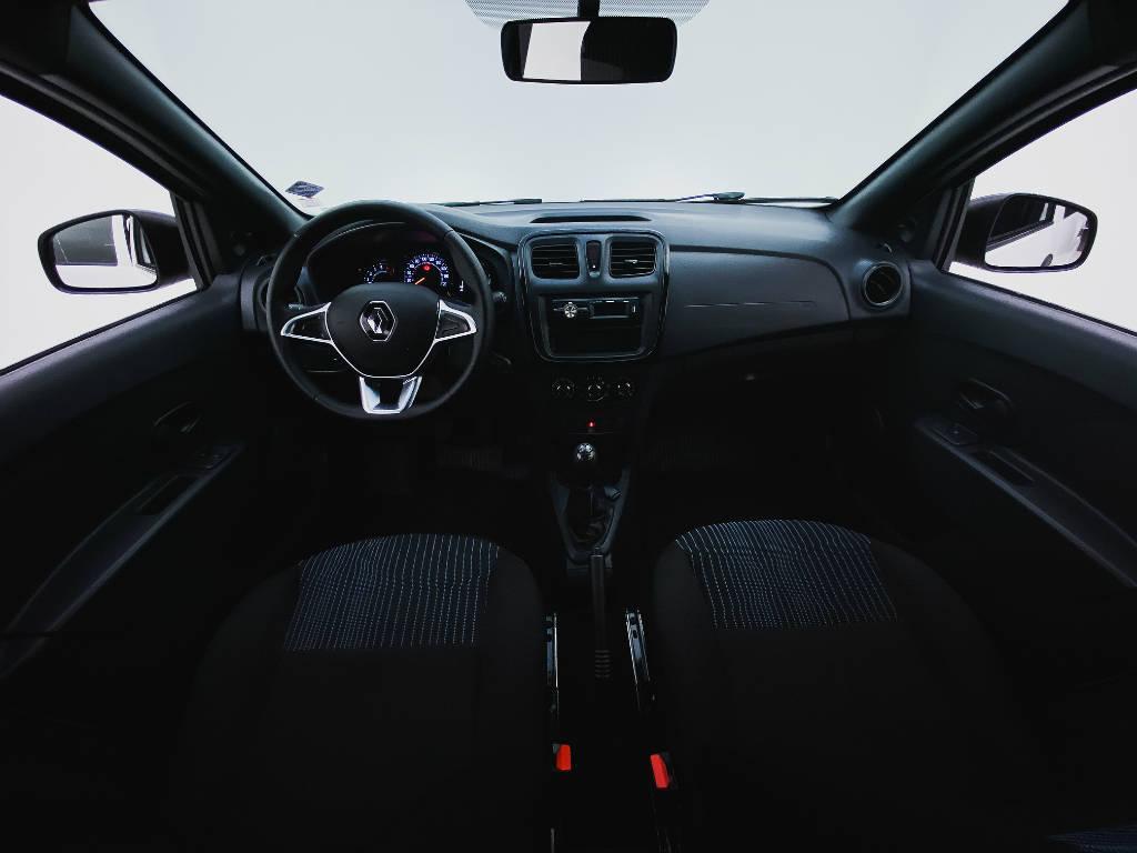 Foto numero 13 do veiculo Renault Sandero Life Flex 1.0 12V Mec. - Branca - 2019/2020