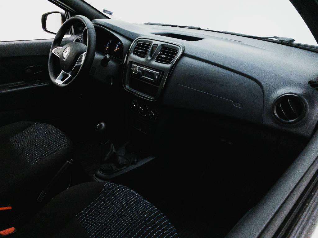 Foto numero 15 do veiculo Renault Sandero Life Flex 1.0 12V Mec. - Branca - 2019/2020