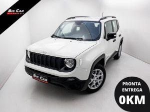 Foto numero 0 do veiculo Jeep Renegade Sport 1.8 4x2 Flex 16V Aut. - Branca - 2021/2021