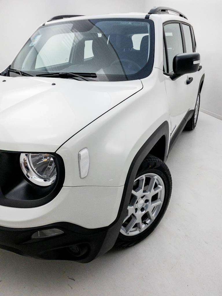Foto numero 9 do veiculo Jeep Renegade Sport 1.8 4x2 Flex 16V Aut. - Branca - 2021/2021