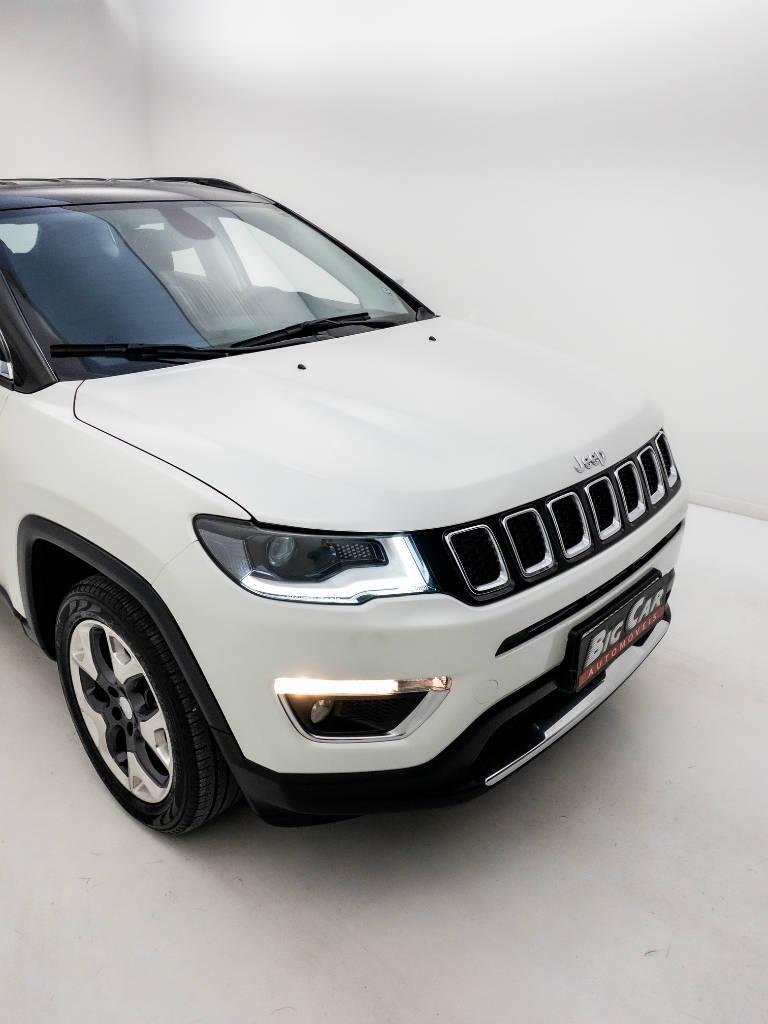 Foto numero 10 do veiculo Jeep Compass LIMITED 2.0 4x2 Flex 16V Aut. - Branca - 2018/2018