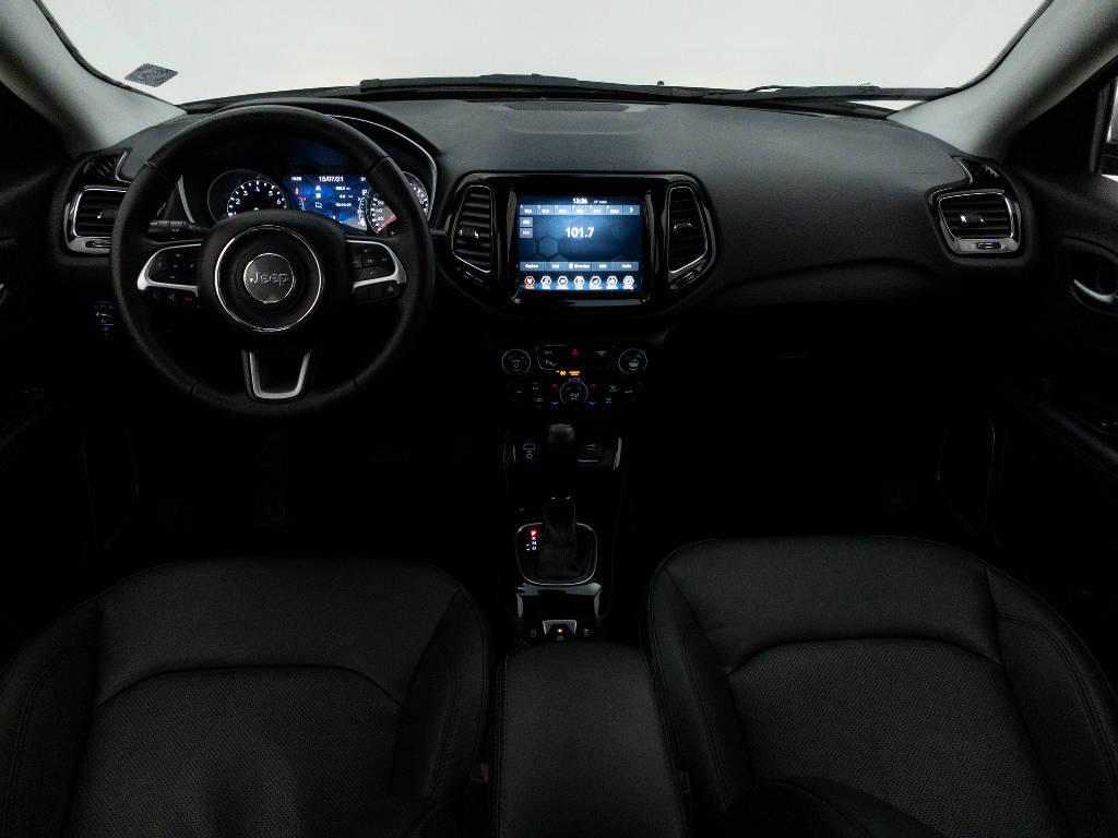 Foto numero 14 do veiculo Jeep Compass LIMITED 2.0 4x2 Flex 16V Aut. - Branca - 2018/2018