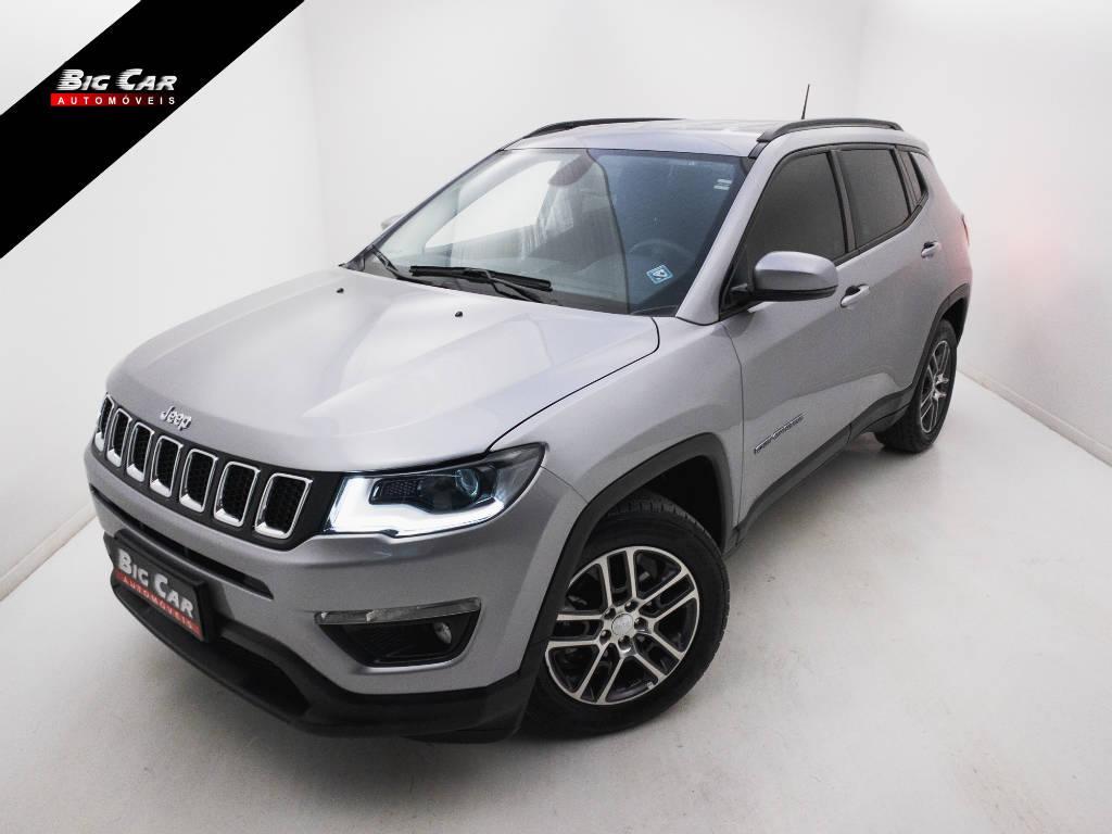 Foto numero 0 do veiculo Jeep Compass SPORT 2.0 4x2 Flex 16V Aut. - Prata - 2019/2019