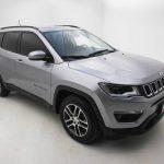 Foto numero 2 do veiculo Jeep Compass SPORT 2.0 4x2 Flex 16V Aut. - Prata - 2019/2019