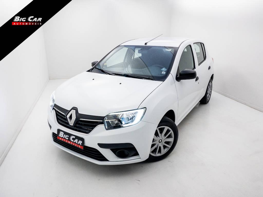 Foto numero 0 do veiculo Renault Sandero Life Flex 1.0 12V Mec. - Branca - 2019/2020