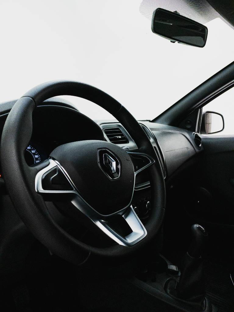Foto numero 10 do veiculo Renault Sandero Life Flex 1.0 12V Mec. - Branca - 2019/2020