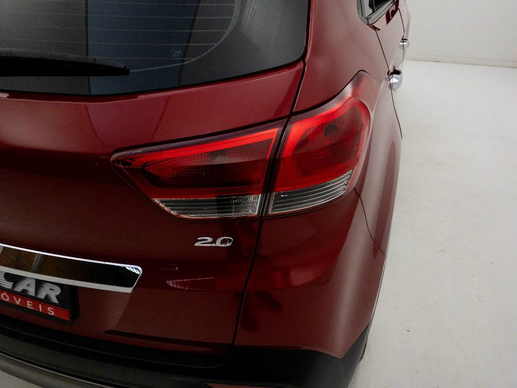 Foto numero 7 do veiculo Hyundai Creta Prestige 2.0 16V Flex Aut - Vermelha - 2018/2019