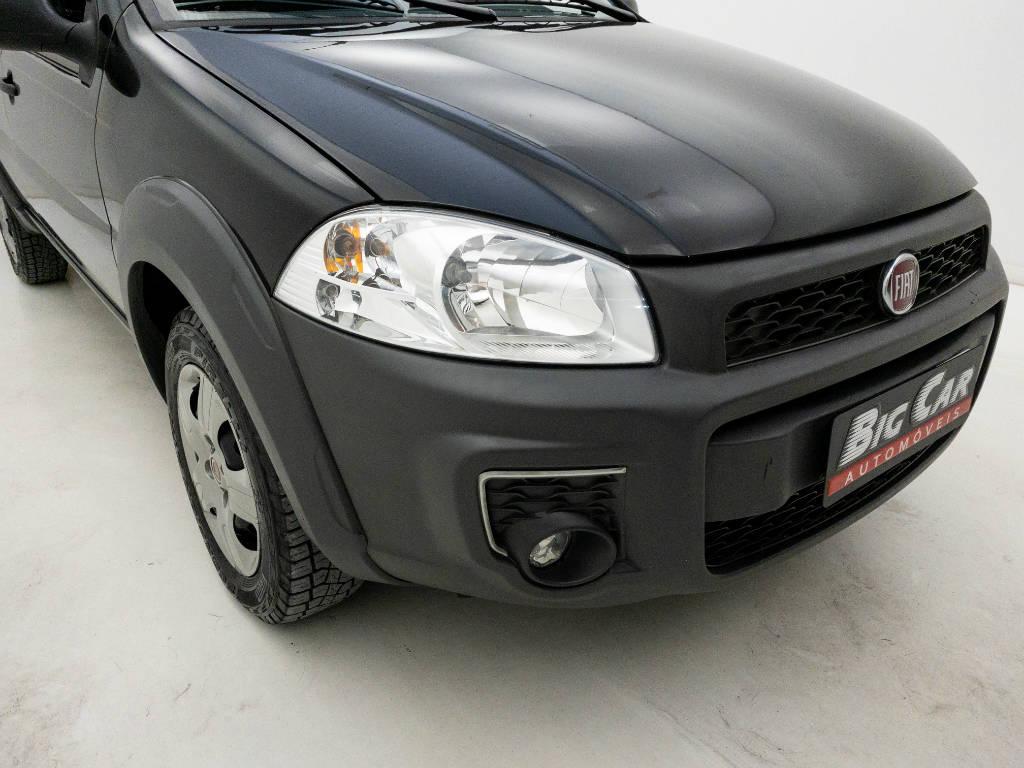 Foto numero 8 do veiculo Fiat Strada Working HARD 1.4 Fire Flex 8V CD - Preta - 2019/2020