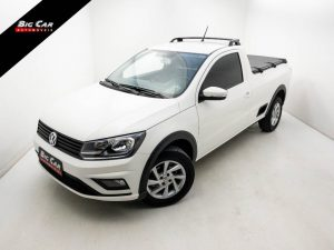 Foto numero 0 do veiculo Volkswagen Saveiro Trendline 1.6 Flex - Branca - 2020/2021